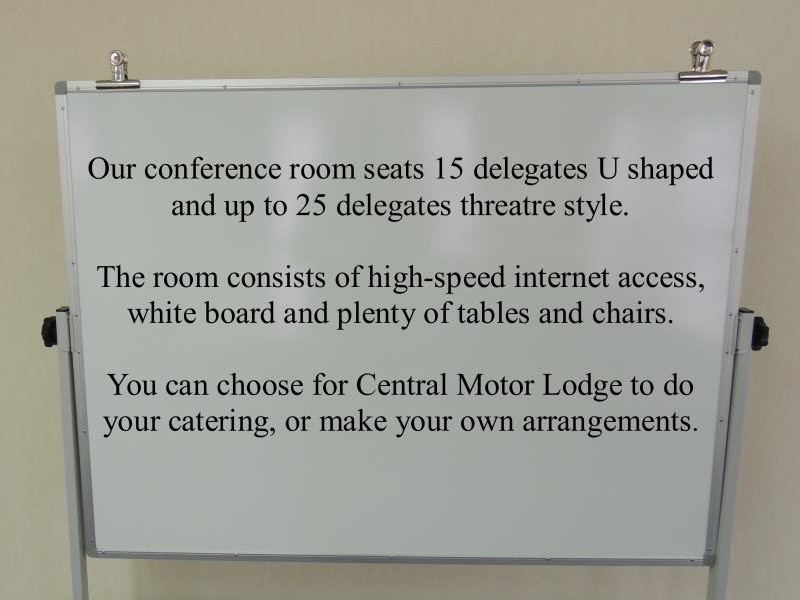 Central Motor Lodge and Conference Centre Gallery 38
